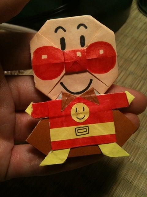 クリスマス 折り紙 カレーパンマン 折り紙 折り方 : ameblo.jp