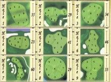$100切りゴルフ予備校~真剣にスコアアップを望んでいる方に送る,完全100切りゴルフマニュアル-グリーンレイアウト9H