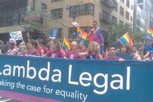 N.Y.に恋して☆-Gay parade 7