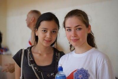$ウズベク、ナンパ道場-girls