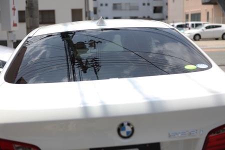 徳島県徳島市のコーティング,カーフィルム専門店アドヴァンスです。-BMW F10カーフィルム