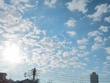 $ファンタスティック☆ブログ-朝、夏の空