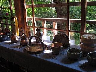 晴れのち曇り時々Ameブロ-展示されていた陶器