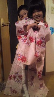 格闘親子と、のほほん母-110630_2209~02.jpg
