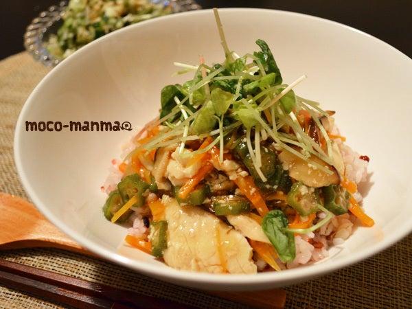 $モコマンマ -簡単お料理レシピとペットと手作り日記--くずし豆腐の野菜あんかけ丼*