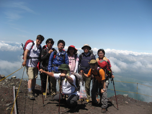 社団法人船橋青年会議所富士登山ブログ