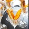 おまけのスイーツは・・・ニューヨークチーズケーキ&ドライオレンジの画像