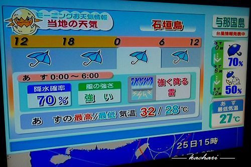 予報 天気 石垣 島