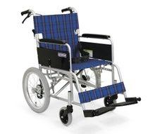 車椅子販売-介助式車椅子 KA302-SB 介助ブレーキ付 カワムラ