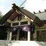 岩見沢神社にて