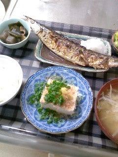 食べて飲んで観て読んだコト-秋刀魚定食