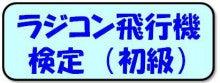 ラジコン飛行機検定(初級)