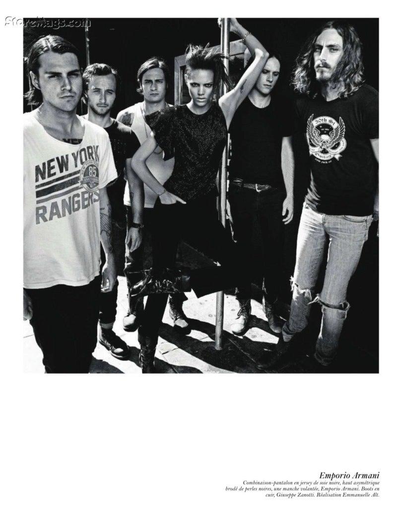 Vogue Paris August 2011 4