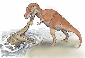川崎悟司 オフィシャルブログ 古世界の住人 Powered by Ameba-ティラノサウルスVSディノスクス