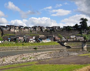 【富山市八尾山田商工会】わいわい やつお やまだ-町民ひろばからの眺め