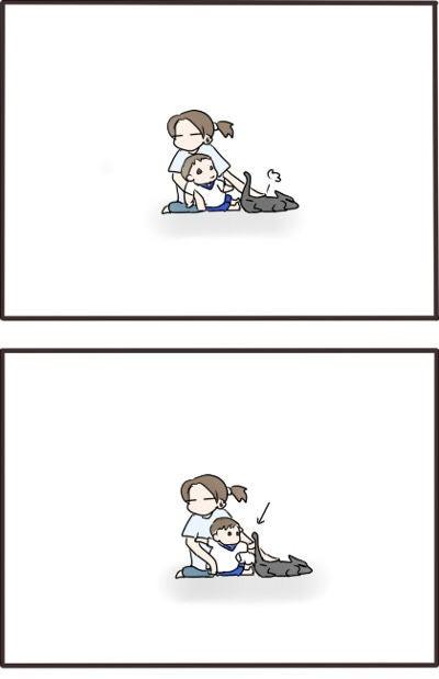 くーさんのかぎしっぽ-110720-2