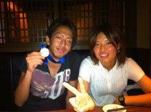 $DJこすものおういえいー日記-熊谷紗希と橋本大樹1