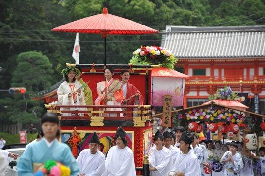 そうだった、京都に行こう(京都写真集)-花笠巡行3