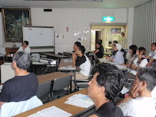 キウイの里洞戸復興プロジェクトのブログ-保さん講義