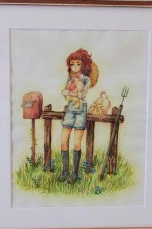 $「アトリエぱれっと」のブログ-大学生女子