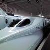 新幹線に乗りました!の画像