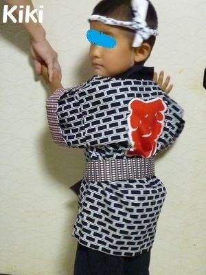 Kikiのキャラ弁1年生-甥っ子
