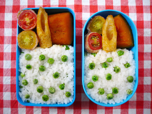 ひよこ食堂-フルーツトマトの豚肉巻き弁当02
