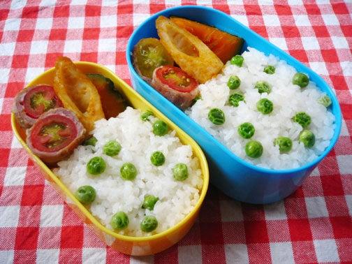 ひよこ食堂-フルーツトマトの豚肉巻き弁当01