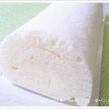 白いロールケーキ@石…