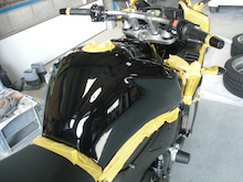 京都の女職人が書く車のブログ☆★-バイク タンク コーティング