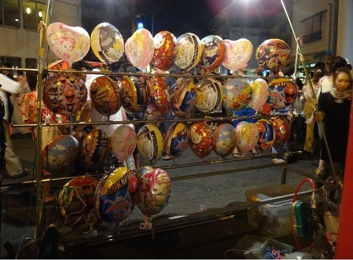ヤマネの徒然ブログ-キャラ風船