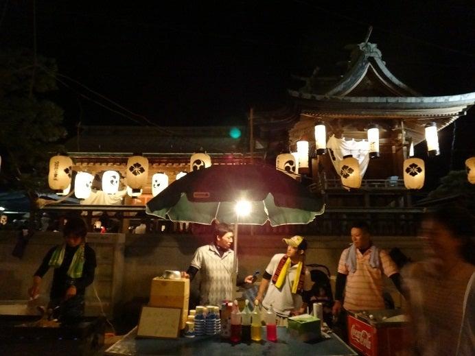 ヤマネの徒然ブログ-住吉神社と屋台