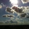 神々しい空の画像