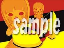 よろしこのワ♪(輪・和)ブログ-よろしこガール☆ポストカード販売