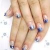 *。. Nail 。*・゚ 夏のブルーは星色に輝く☆*゜の画像