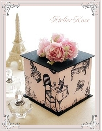 Jardin de Rose ~☆カルトナージュで素敵な日々を☆~-5