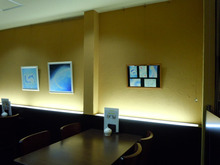 ** Atelier  夢叶色 ~ ゆめかないろ~  ** パステルシャインアート&各種作品制作(大阪)-青のエリアとポストカードエリア