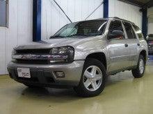 $輸入車中古車販売 アップフィールド-2003年 シボレー トレイルブレイザー