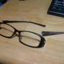 メガネを潰した。。。