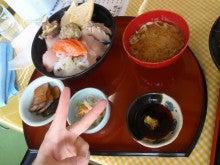 Chikageのブログ-昼食・海鮮丼
