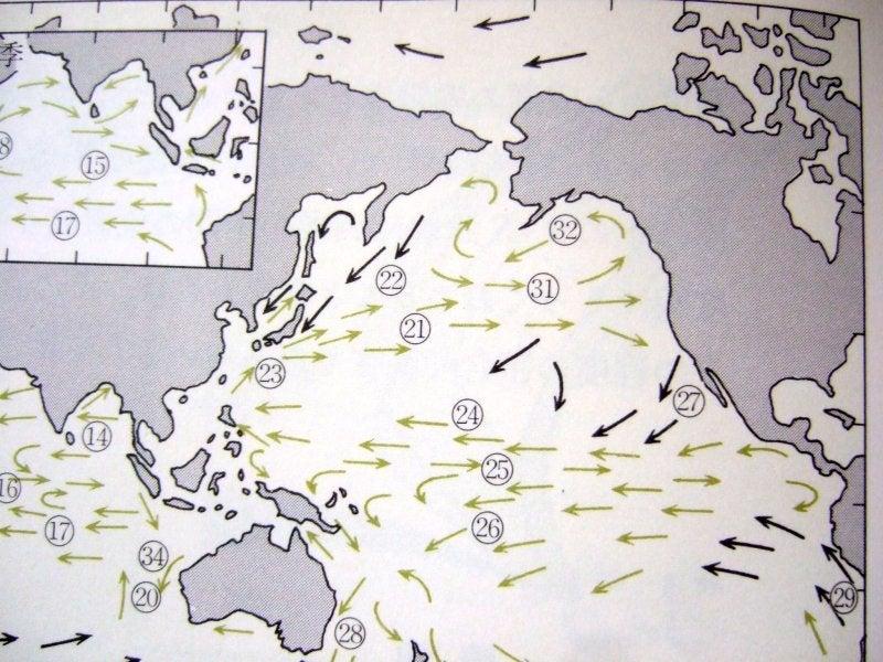 環境とエネルギーを考える-太平洋の海流