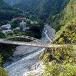 太魯閤渓谷散策の拠点…