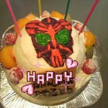 誕生日ケーキと初めて…