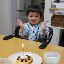1歳になりました(゚…