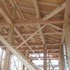 木造の家作りの画像