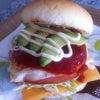 ハムエッグチーズバーガーの画像