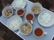 素尻同盟☆あほせぶろぐ-豚汁と白米。