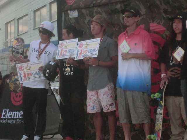 $NATURAL CREATOR SOUNDSYSTEM & TEAM420 FISHING CREW-表彰台