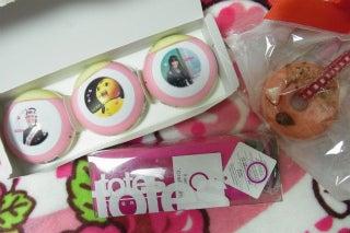新谷良子オフィシャルblog 「はぴすま☆だいありー♪」 Powered by Ameba-頂いたものたち。