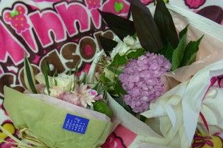新谷良子オフィシャルblog 「はぴすま☆だいありー♪」 Powered by Ameba-頂いた花束。